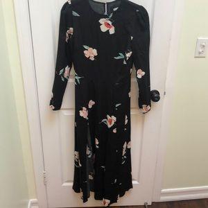 b3dd533c2e66 Reformation Dresses - NWOT Reformation Vanessa Midi Dress Floral Slit